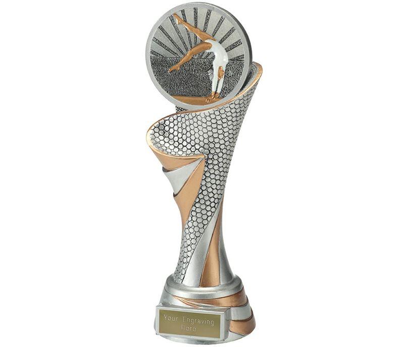 """Reach Female Gymnastics Trophy 24.5cm (9.5"""")"""
