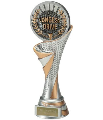 "Reach Longest Drive Golf Trophy 22.5cm (8.75"")"