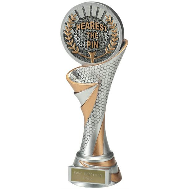 "Reach Nearest the Pin Golf Trophy 22.5cm (8.75"")"