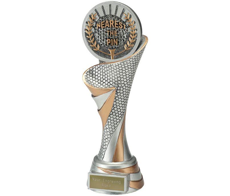 """Reach Nearest the Pin Golf Trophy 24.5cm (9.5"""")"""