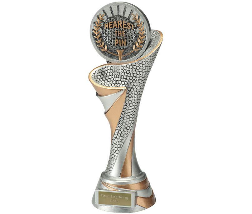 """Reach Nearest the Pin Golf Trophy 26cm (10.25"""")"""