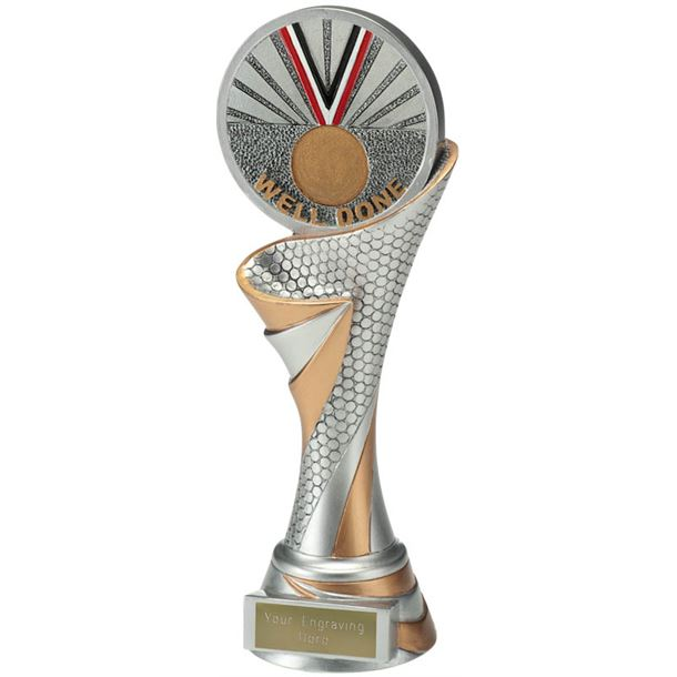 """Reach Well Done Trophy 22.5cm (8.75"""")"""