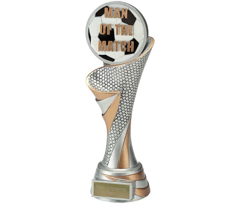 "Reach Man of the Match Trophy 24.5cm (9.5"")"