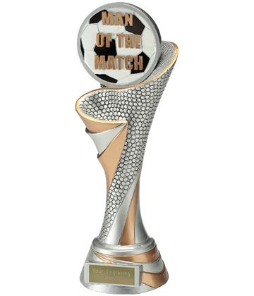 "Reach Man of the Match Trophy 26cm (10.25"")"