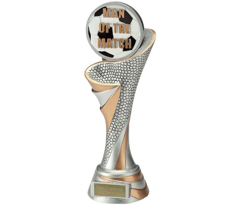 "Reach Man of the Match Trophy 26cm (10.25"")"
