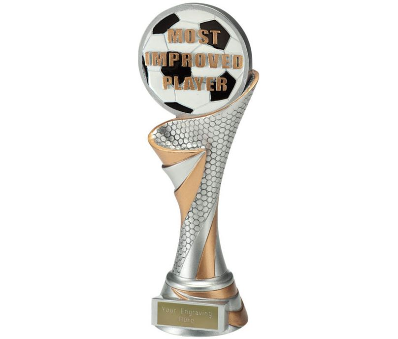 """Reach Most Improved Player Trophy 22.5cm (8.75"""")"""