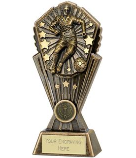 "Cosmos Male Football Trophy 20cm (8"")"