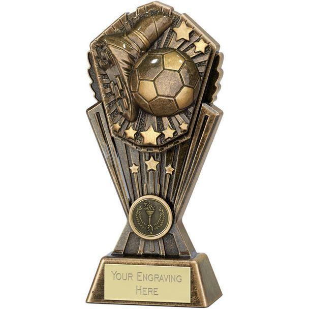 """Cosmos Football Trophy 17.5cm (7"""")"""