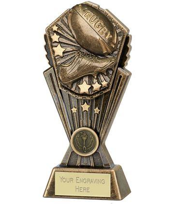 "Cosmos Rugby Trophy 20cm (8"")"