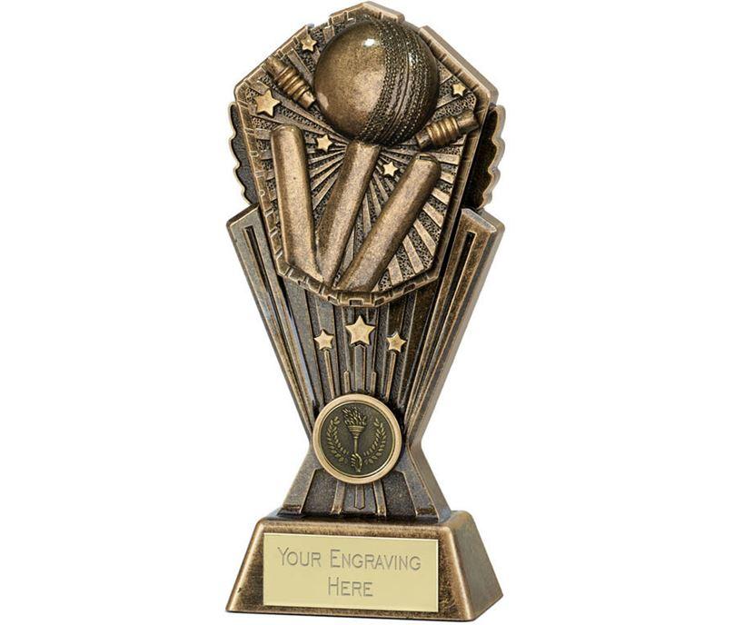 """Cosmos Cricket Trophy 20cm (8"""")"""