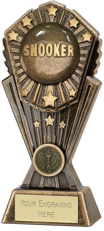 """Cosmos Snooker Trophy 20cm (8"""")"""