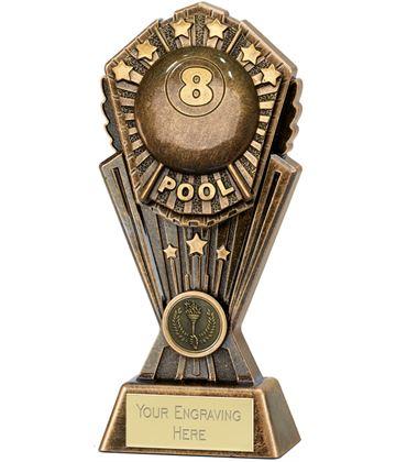 "Cosmos Pool Trophy 17.5cm (7"")"