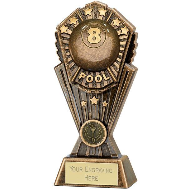 "Cosmos Pool Trophy 20cm (8"")"