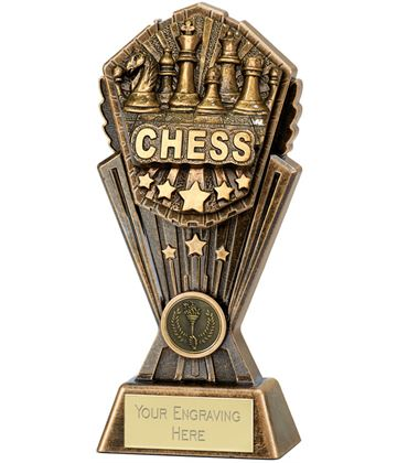 "Cosmos Chess Trophy 20cm (8"")"