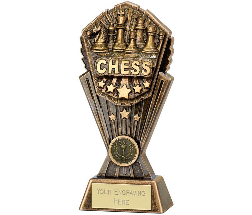 "Cosmos Chess Trophy 20cm (8"")"