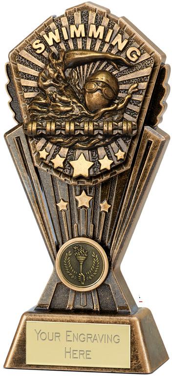 "Cosmos Swimming Trophy 17.5cm (7"")"