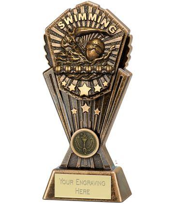 "Cosmos Swimming Trophy 20cm (8"")"