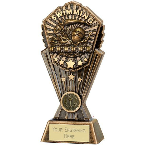 "Cosmos Swimming Trophy 20cm (8"")"