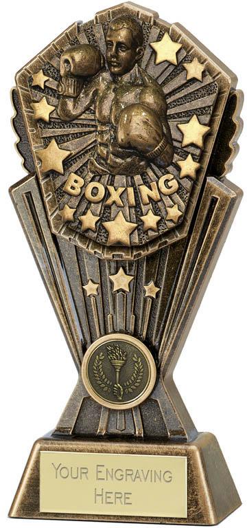 "Cosmos Boxing Trophy 20cm (8"")"