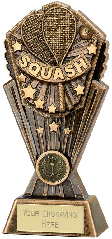 "Cosmos Squash Trophy 17.5cm (7"")"