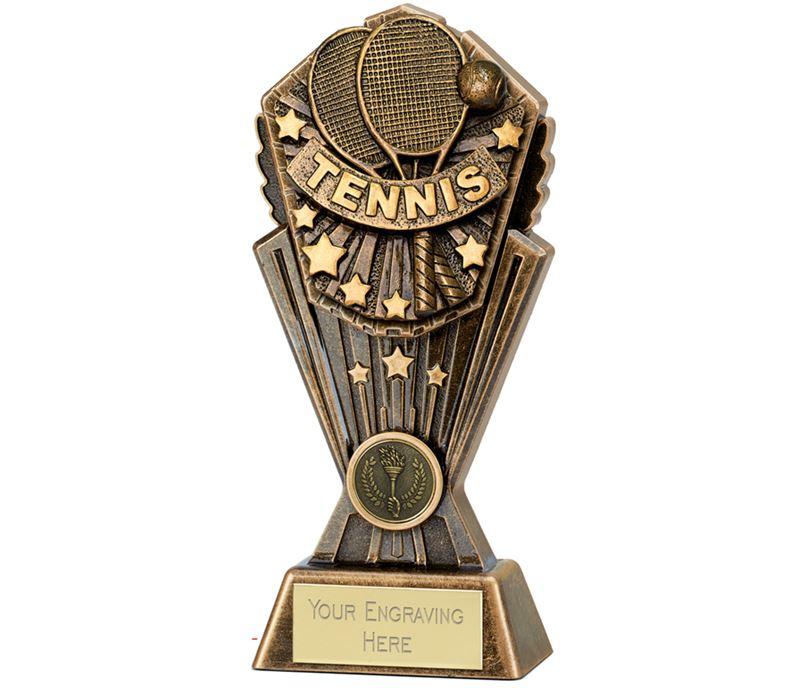 """Cosmos Tennis Trophy 20cm (8"""")"""