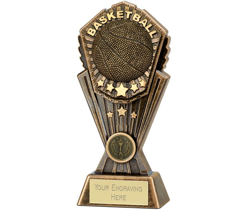 "Cosmos Basketball Trophy 20cm (8"")"