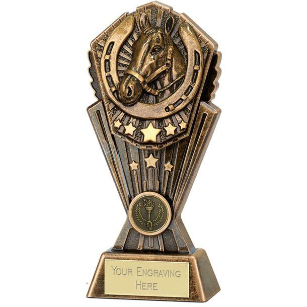 """Cosmos Horse Trophy 20cm (8"""")"""