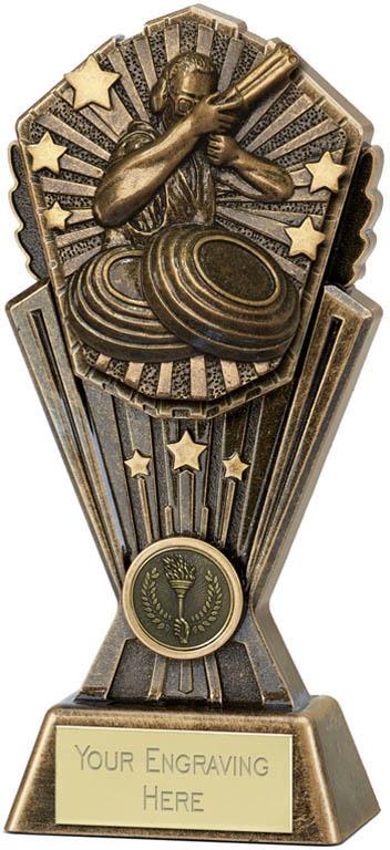 "Cosmos Clay Pigeon Trophy 20cm (8"")"