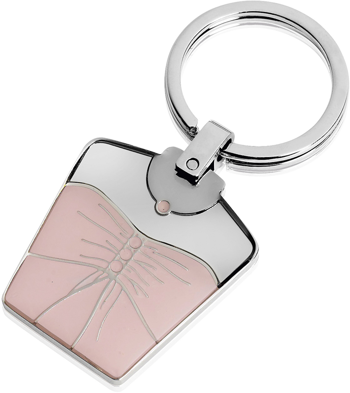 Bridesmaids Dress Style Metal Keyring
