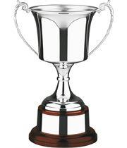 "Hallmarked Sterling Silver Presentation Cup 24cm (9.5"")"