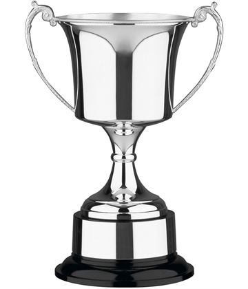 "Hand Made Nickel Plated Presentation Cup 35.5cm (14"")"