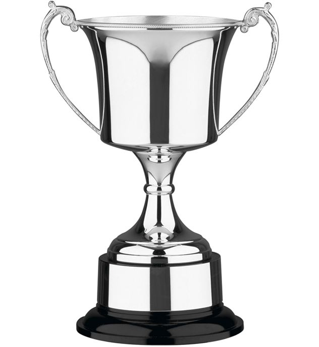 """Hand Made Nickel Plated Presentation Cup 35.5cm (14"""")"""