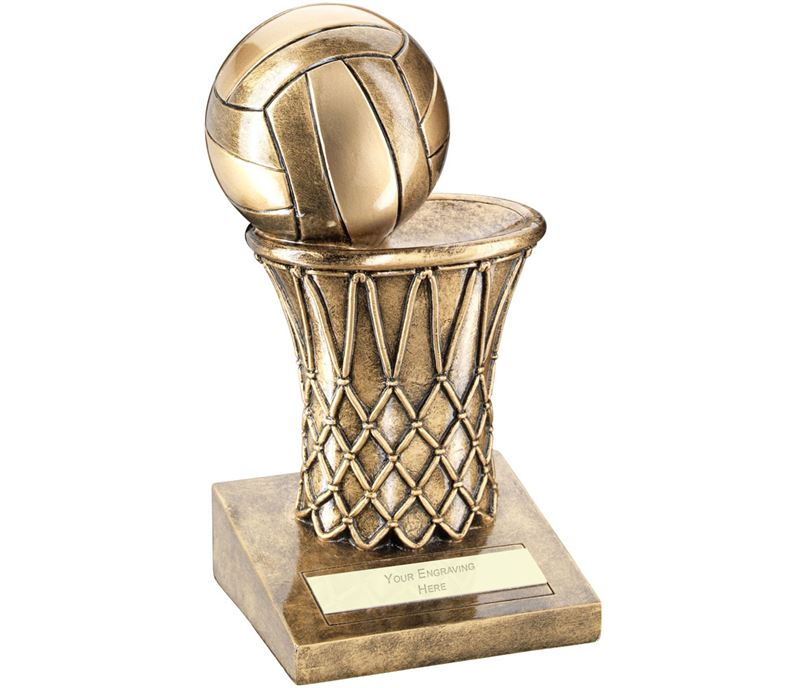 "Netball And Net Trophy 12.5cm (5"")"