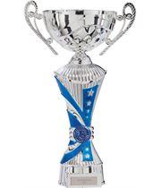 "All Stars Heavyweight Cup Silver & Blue 34.5cm (13.5"")"