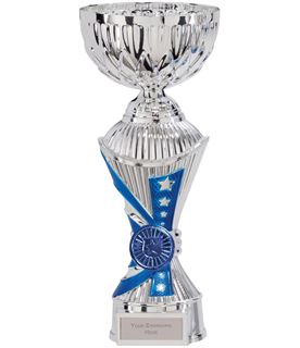 "Astro All Stars Heavyweight Cup Silver & Blue 24cm (9.5"")"