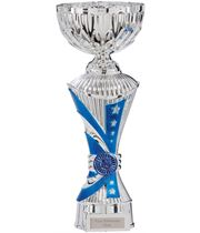 "Astro All Stars Heavyweight Cup Silver & Blue 26cm (10.25"")"