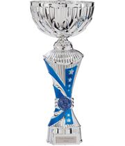 "Astro All Stars Heavyweight Cup Silver & Blue 27cm (10.5"")"