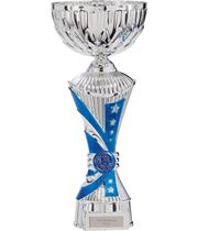 "Astro All Stars Heavyweight Cup Silver & Blue 33cm (13"")"