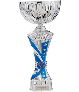 """Astro All Stars Heavyweight Cup Silver & Blue 34cm (13.25"""")"""