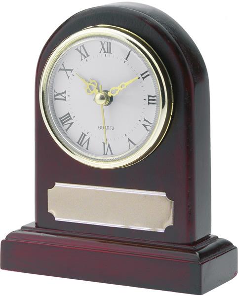 "Wooden Presentation Clock 12.5cm (5"")"