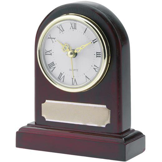 "Wooden Presentation Clock 15cm (6"")"