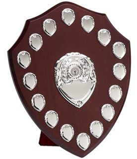 "Silver Annual Perpetual Presentation Shield 35.5cm (14"")"