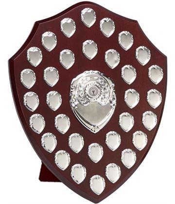 "Silver Annual Perpetual Presentation Shield 40.5cm (16"")"