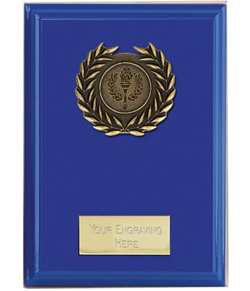 "Event Blue Plaque 10cm (4"")"