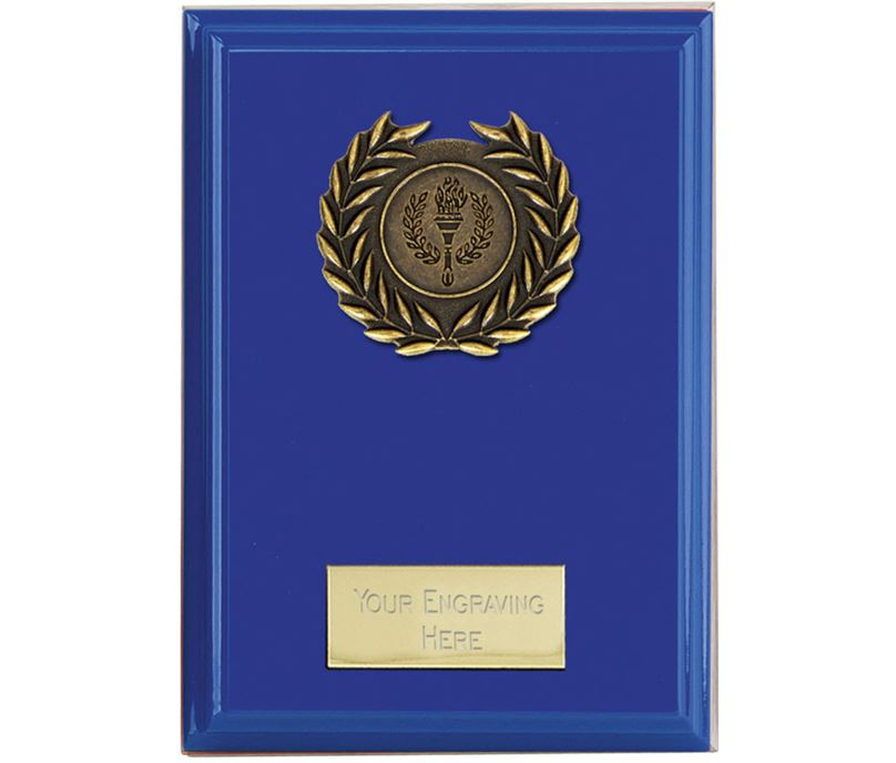 "Event Blue Plaque 10cm (4"")"