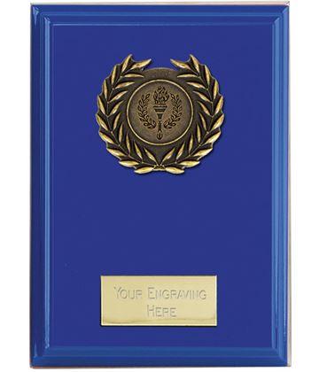 "Event Blue Plaque 15cm (6"")"