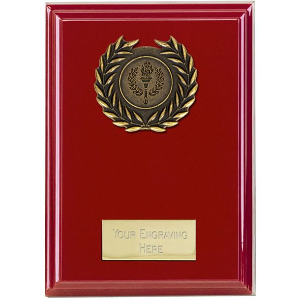"""Event Red Plaque 12.5cm (5"""")"""