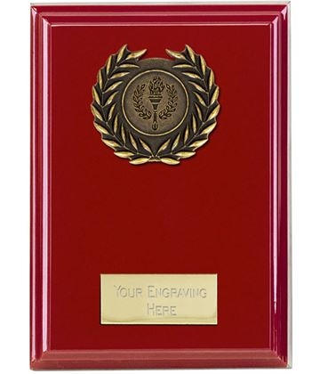 "Event Red Plaque 15cm (6"")"