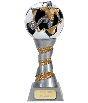 "X-Plode 3D Football Trophy 20.5cm (8"")"