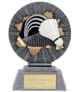 "X-Plode Badminton & Shuttlecock Trophy 9.5cm (3.75"")"